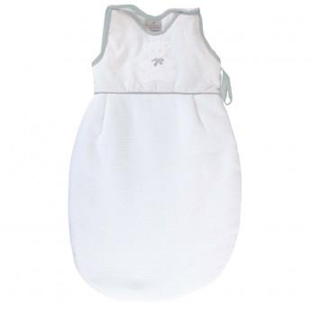 Bawełniany śpiworek do spania dla niemowlaka 60cm Miś szary, Poyet