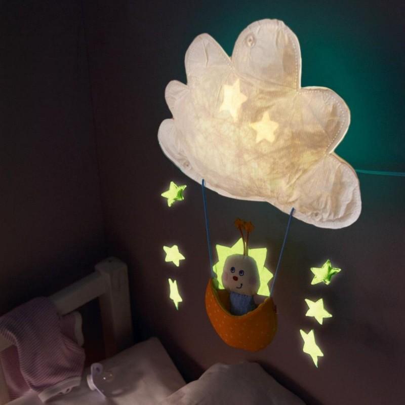 Kinkiet LED Gwiezdny Skrzat lampka dla niemowlaka, Haba