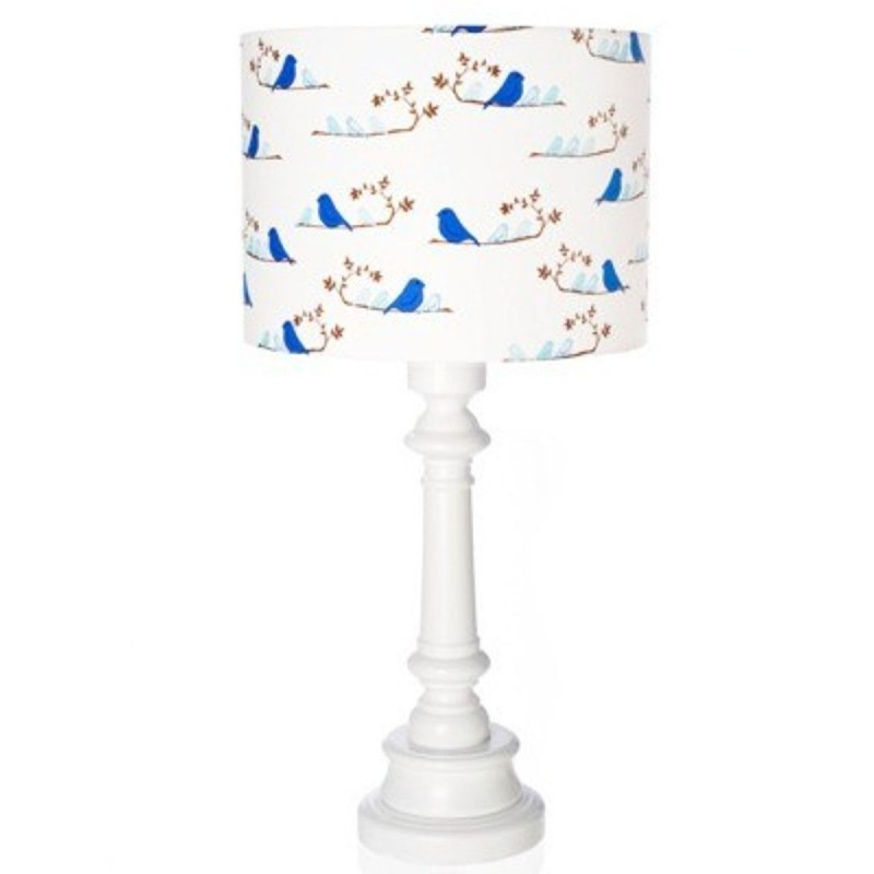 Lampa stojąca dla dziecka Ptaszki granatowe, Lamps & Co.