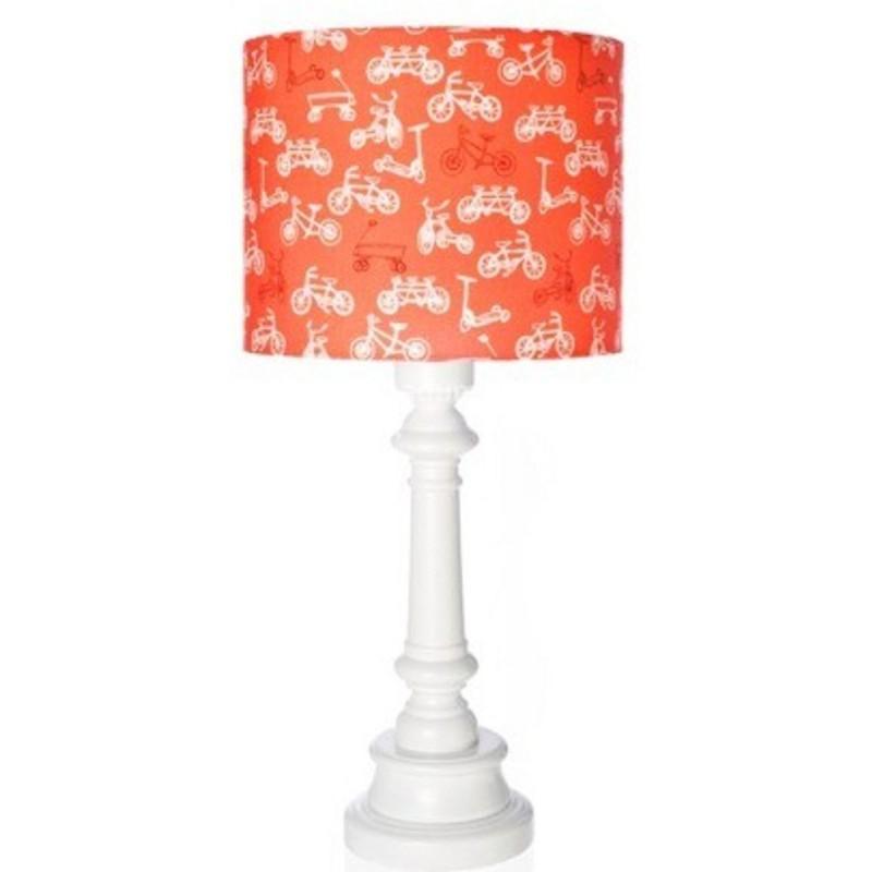 Lampa stojąca dla dziecka Rowerki Czerwone walec, Lamps & Co.