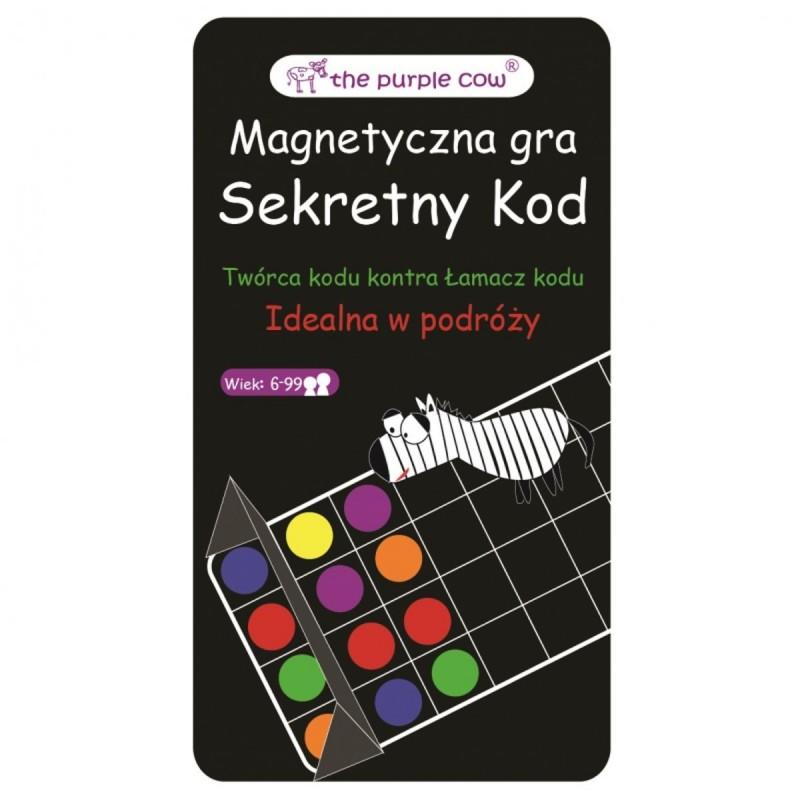 Mastermind i Secret code 2w1 gra magnetyczna, The Purple Cow