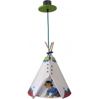 Haba lampa wisząca do pokoju dziecka Indianin