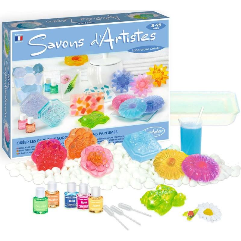 Artystyczne mydełka glicerynowe do robienia dla dzieci +8 lat SentoSphere