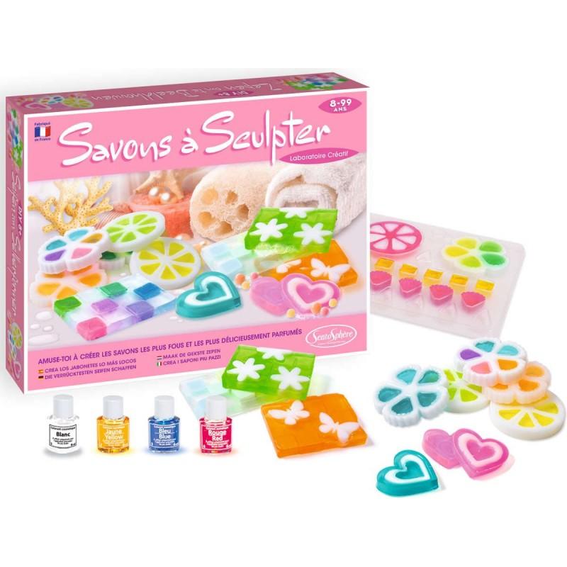 Zestaw do robienia mydełek glicerynowych 3D dla dzieci, SentoSphere