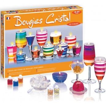 Zestaw do robienia świec żelowych dla dzieci od 8 lat, SentoSphere