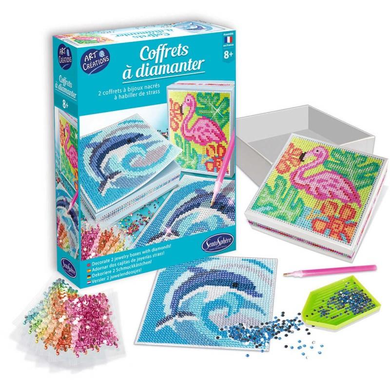 Zestaw kreatywny obraz z diamentami Zwierzęta Egzotyczne +8, SentoSphere