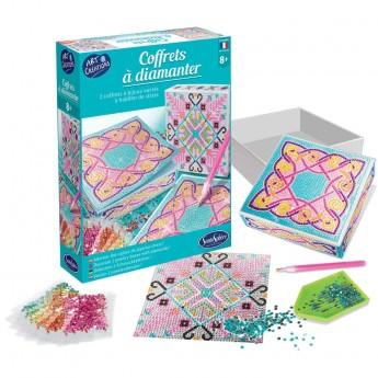 Zestaw kreatywny pudełka z diamentami Wzory Skandynawskie +8, SentoSphere