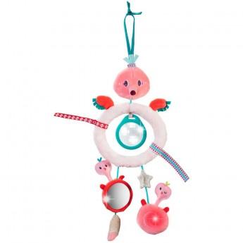 Lilliputiens Zawieszka dla niemowląt Flamingo Anais z pryzmatem