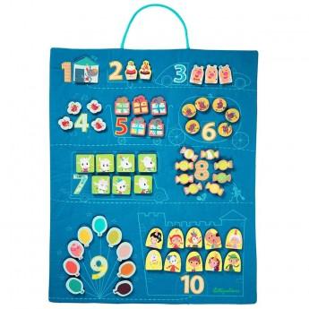 Lilliputiens Tablica do nauki liczenia dla 3 przedszkolaków