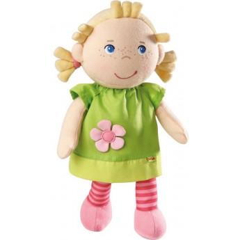 Haba lalka szmaciana dla niemowląt Mali pozytywka +0m