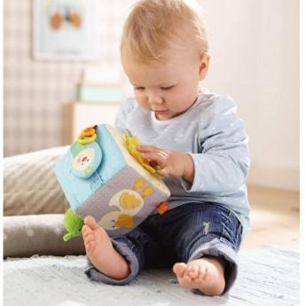 Haba Kostka sensoryczna dla niemowląt Magiczna Żaba + 6mc