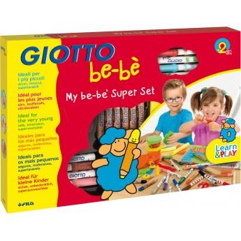Giotto Bebe Super Maxi zestaw plastyczny dla 2 latka