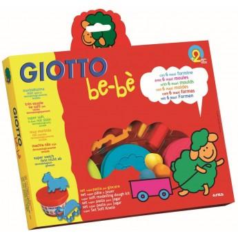 Giotto Bebe Ciastolina dla 2 latka z akcesoriami