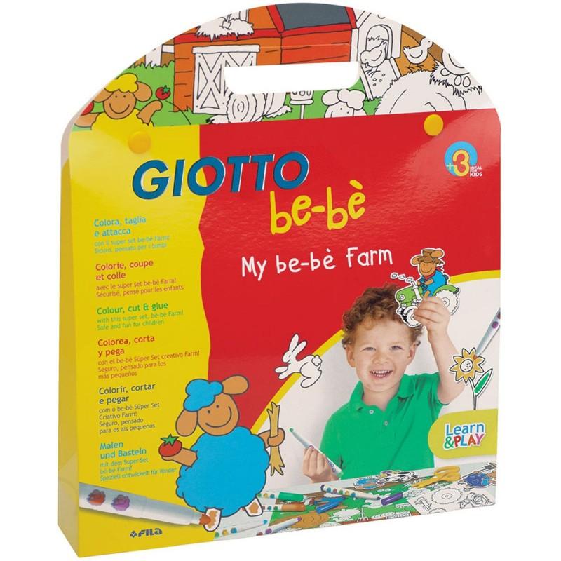 Giotto Bebe Zestaw kreatywny do kolorowania Farma dla 2 latka