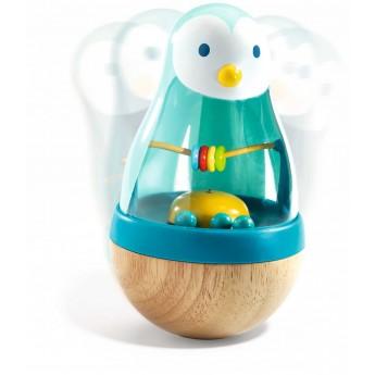 Djeco Pingwin wańka wstańka kiwaczek zabawka z dźwiękiem