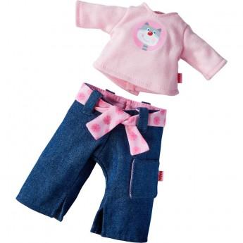 Haba Komplet ubrań Rosanna dla lalek 2-częściowy +18mc