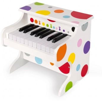 Janod Pianino drewniane elektroniczne dla dzieci +3