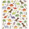 Dinozaury naklejki ozdobne do zeszytów i scrapbookingu, Creativ Company