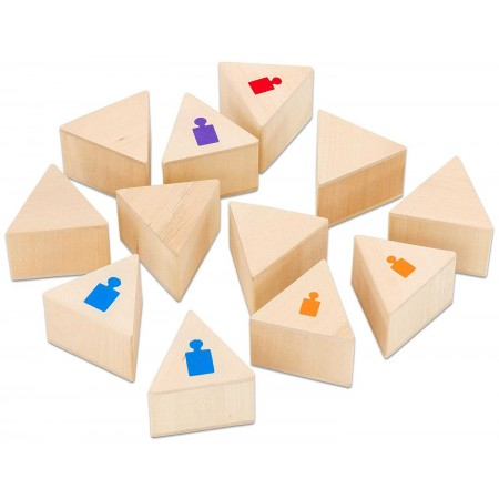 Memo i gra w parę Rozpoznaj Wagę 2x6 elementów, Goki