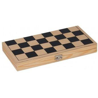 Klasyczna gra w szachy drewniana składana, Goki