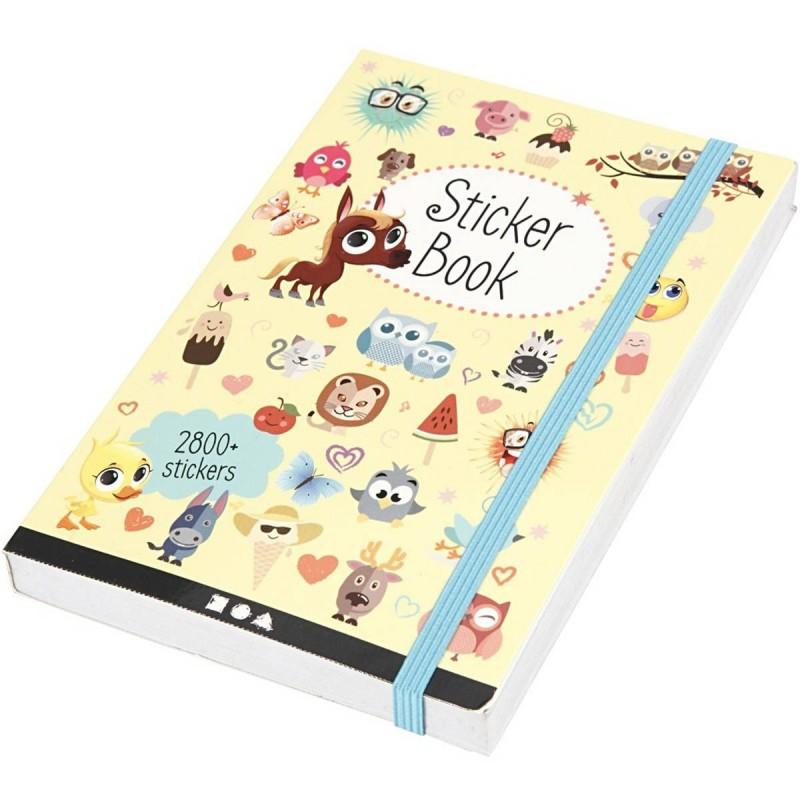 Księga naklejek 2800 naklejek dla dzieci od 3 lat, Creativ Company