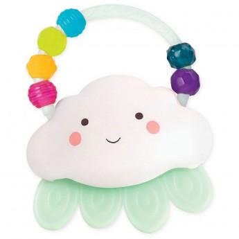 B.Toys Świecący gryzak-grzechotka Chmurka dla niemowląt od 3mc