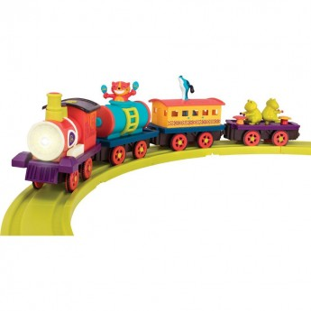 B.Toys Pociąg muzyczny z torami The Critter Express +2