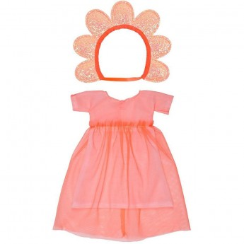 Ubrania dla lalki Kwiatek z sukienką, Meri Meri