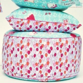 Pufa Baloniki dla dzieci do pokoju dziecięcego, Lamps & Co. | Dadum