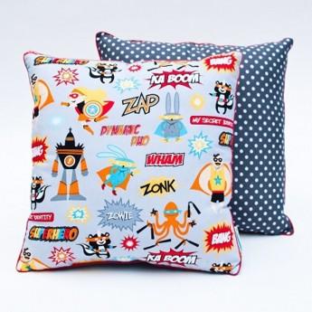 Poduszka dla dzieci Superbohaterowie, Lamps & Co.