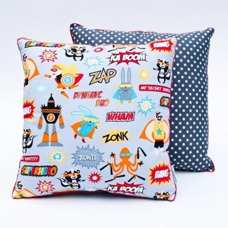 Poduszka dla dzieci Superbohaterowie, Lamps & Co.   Dadum