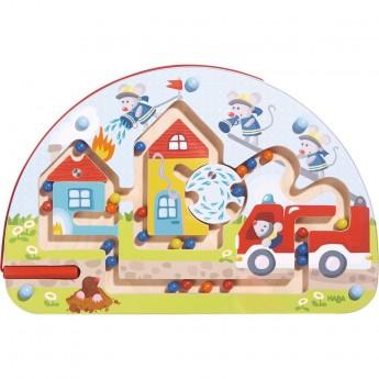 Haba gra labirynt magnetyczny Myszy Strażacy dla 2 latka