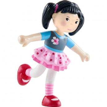 Laleczka Lara plastikowa do domków Little Friends, Haba
