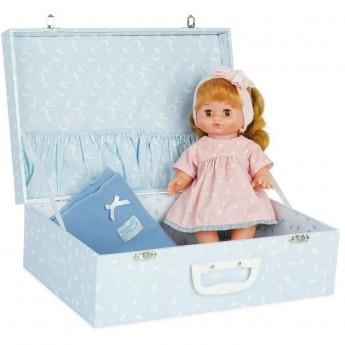 Petitcollin lalka Zosia 28 cm w walizce z ubrankami