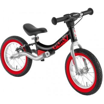 Rower biegowy LR Ride Br czarno-czerwony 3+ z hamulcami, Puky