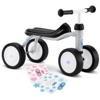 PUKYlino jeździk jasnoszary metalowy dla dzieci +12m
