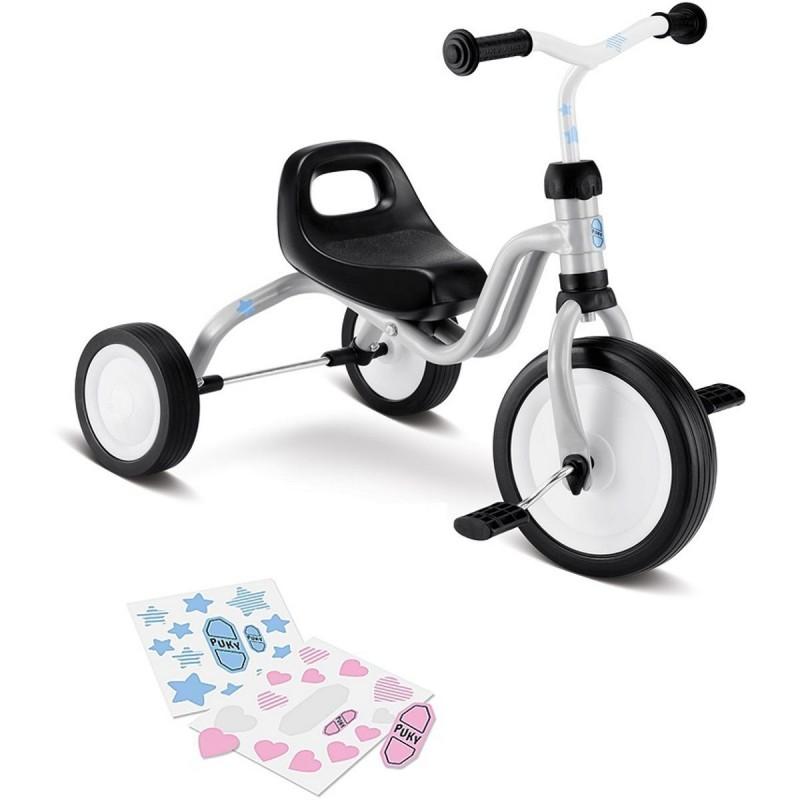 Puky Fitsch jasnoszary rowerek trójkołowy dla dzieci od 18mc