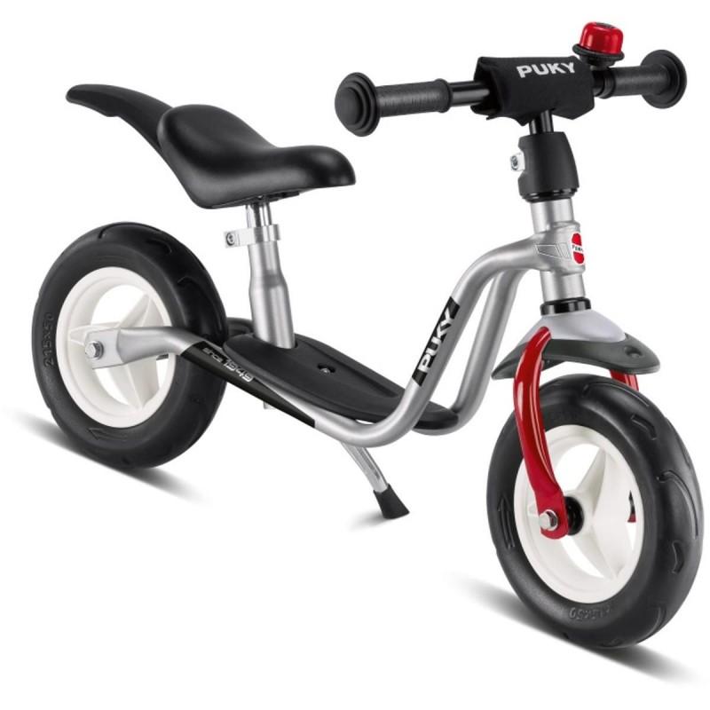 Rower biegowy LRM Plus srebrny dla 2 latka, Puky