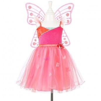 Strój wróżki Yoline sukienka i skrzydełka 3-4 lata, Souza!