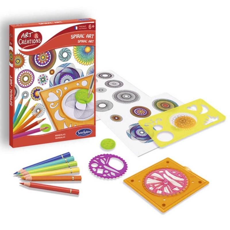 Spiral'Art zestaw do rysowania DIY, SentoSphere