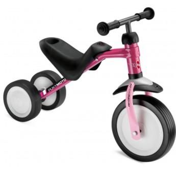 Puky jeździk różowy dla dziewczyn +18mc metalowy PUKYmoto