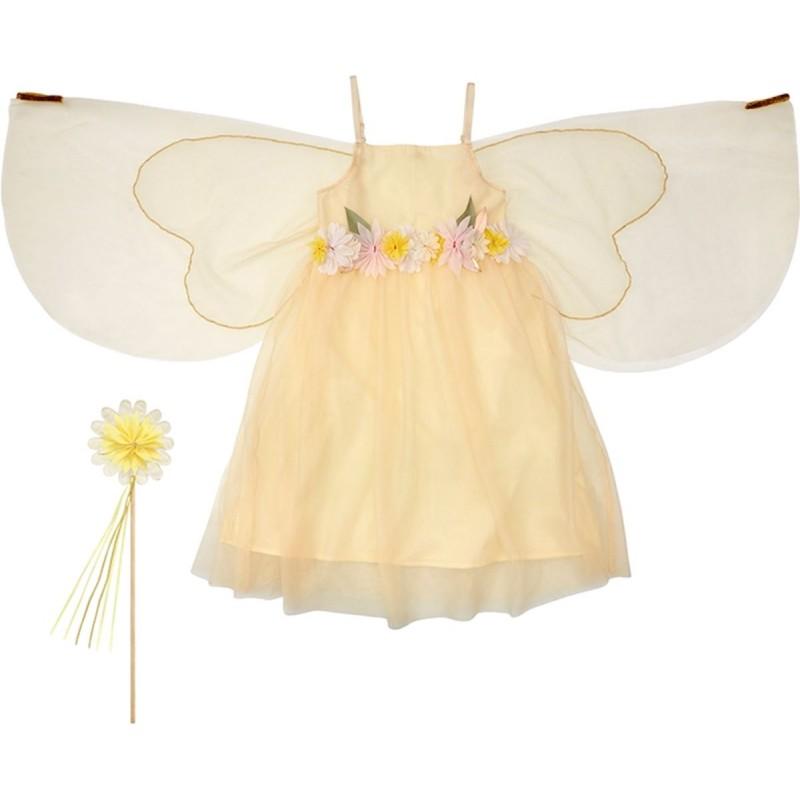 Przebranie Wróżka wiosenna na bal dla dzieci 3-4lat, Meri Meri