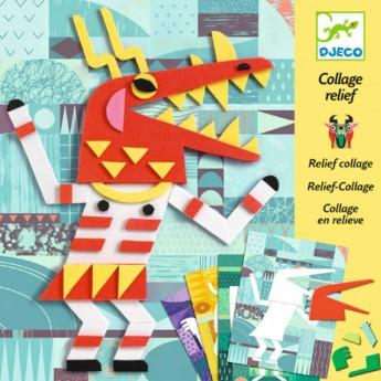 Djeco kolaże piankowe Galeria Potworków dla dzieci +6