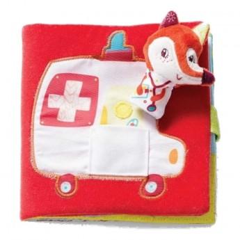 Lilliputiens książeczka dla niemowlaka Doktor Alice +6m