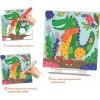 Zestaw kreatywny magiczne kolorowanki Zwierzaki +3, Crea Lign'