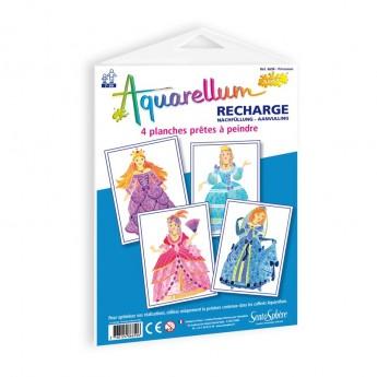 Księżniczki plansze do Aquarellum Junior, SentoSphere