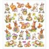 Wielkanocne Zajaczki ozdobne naklejki dla dzieci +3, Creativ Company