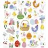 Wielkanocne ozdobne naklejki metaliczne dla dzieci +3, Creativ Company