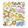 Zwierzeta na Safari ozdobne naklejki metaliczne dla dzieci +3, Creativ Company