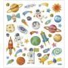 Kosmos ozdobne naklejki metaliczne dla dzieci +3, Creativ Company